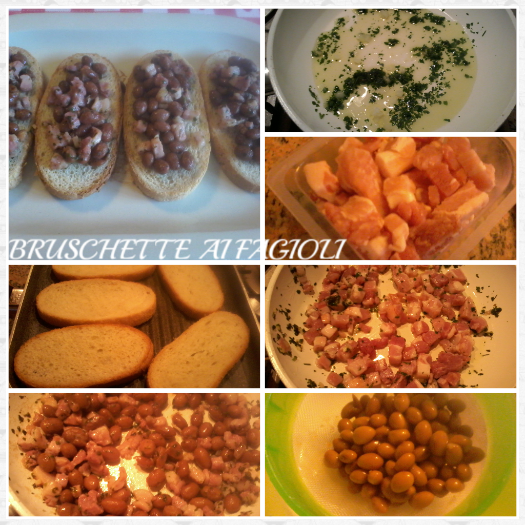 Bruschette ai fagioli fantasia in cucina for Creatore di piano