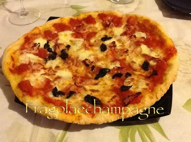 La mia pizza con pasta madre
