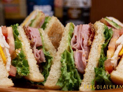 Club sandwich- ricetta