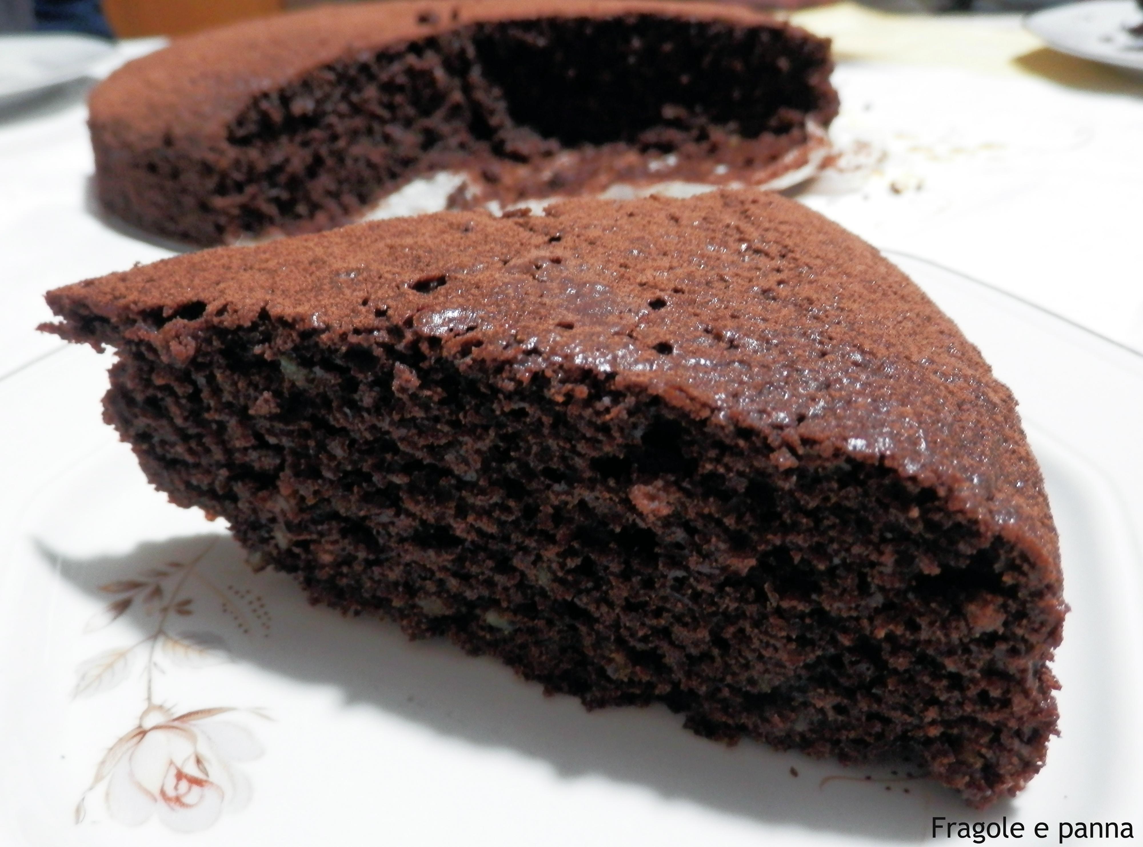 Torta al cioccolato senza burro super veloce