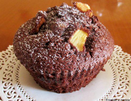 Tortine al cioccolato e mele