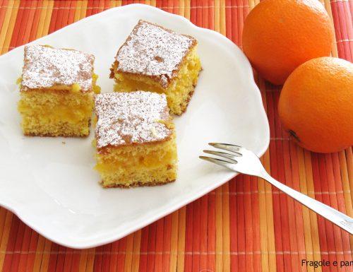 Trancetti con crema d'arancia