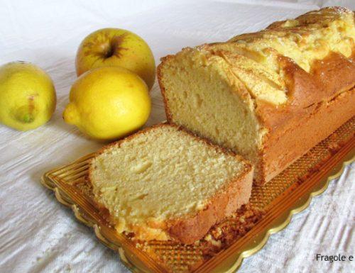 Plumcake alle mele al profumo di cannella