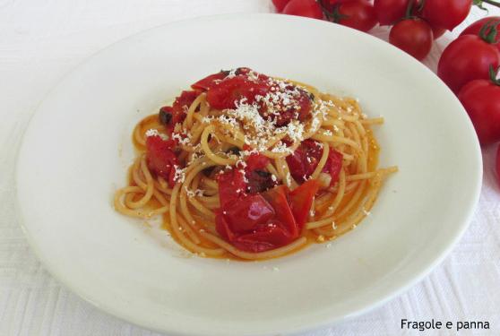 Vermicelloni con pomodoro al forno