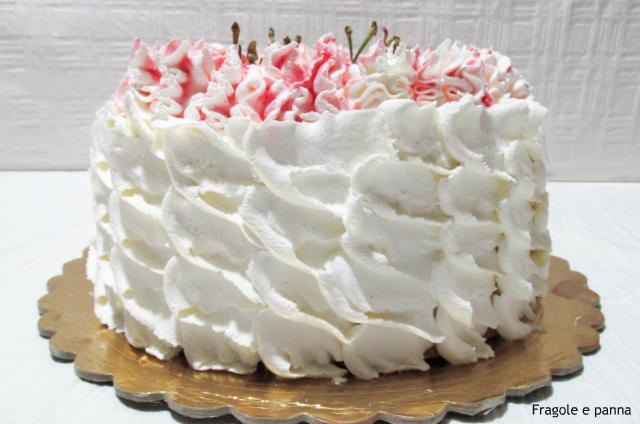 Torta Per La Festa Della Mamma Fragole E Panna