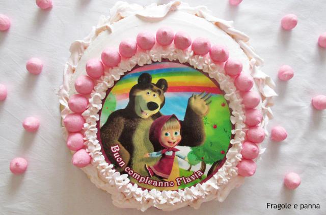 Torta Masha ed Orso