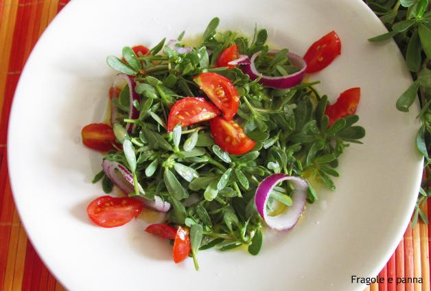 Portulaca ad insalata ossia la perchiazzè