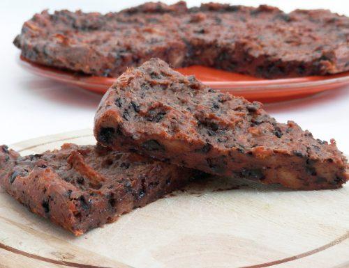 Torta di pane al cioccolato facile e veloce!