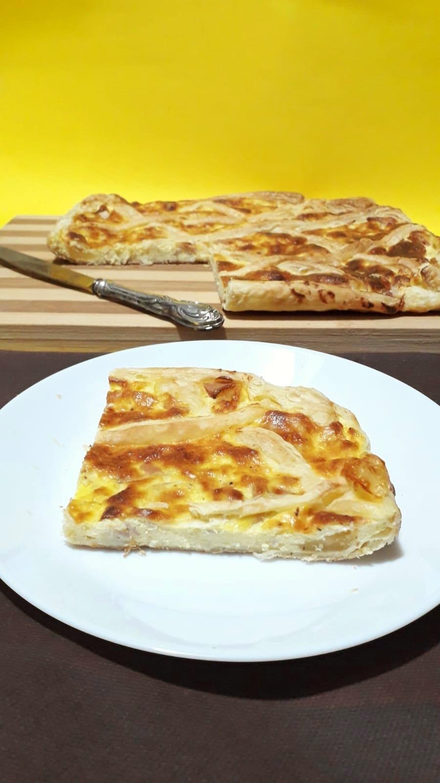 Torta salata ricotta e prosciutto