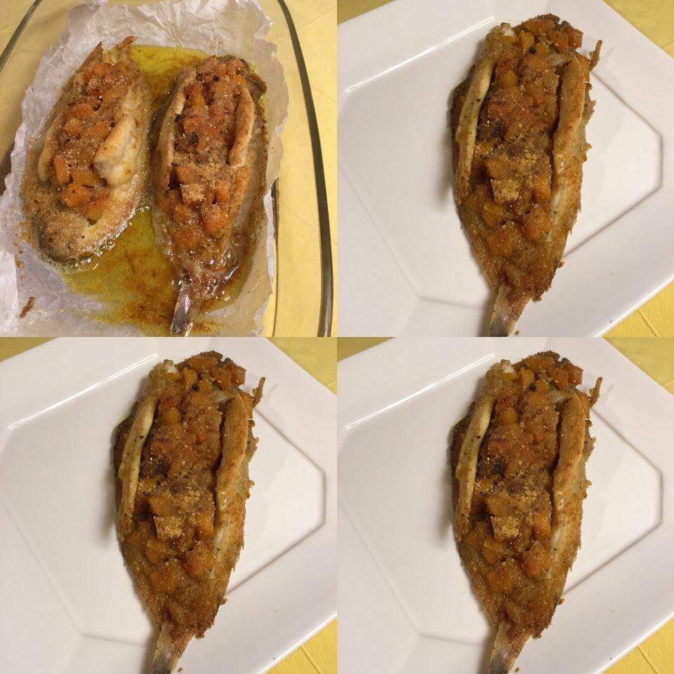 Sogliola con zucca un modo particolare per cucinare la for Cucinare sogliola