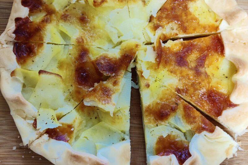 Torta rustica zucchine e patate