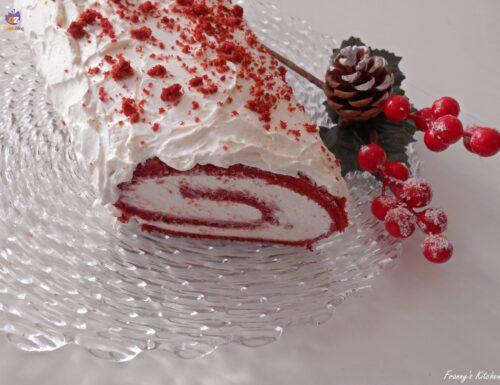 Tronchetto di Natale Red Velvet (Red Velvet Cake Roll)