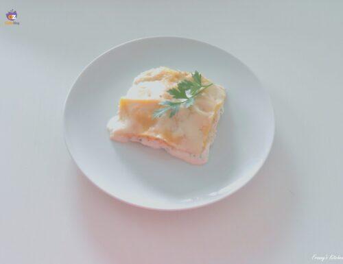 Lasagne ricotta e salmone affumicato