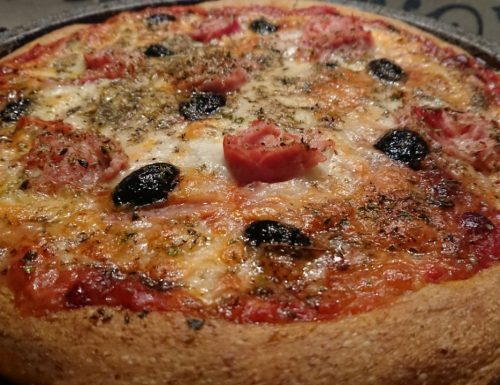 Pizza integrale a lunga maturazione con il metodo Bonci