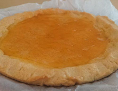 Crostata alla marmellata di albicocche
