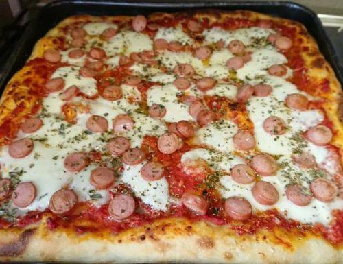 Impasto pizza Bonci in teglia