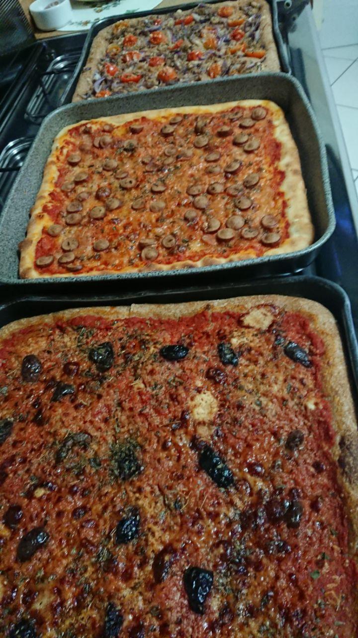 pizze in teglia