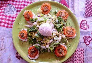 insalata mista con bufala