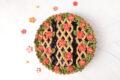Crostata senza lattosio con confettura di ciliegie