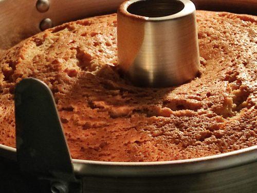 Chiffon Cake alta all' arancia