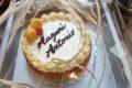 Torta di compleanno con crema chantilly al mascarpone
