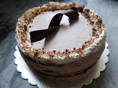 Torta cioccolato golosa – con camy cream alla nutella –