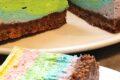 Cheesecake multicolore