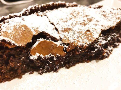 Torta al cioccolato senza farina – La Collapsed Cake di frolladimamma –