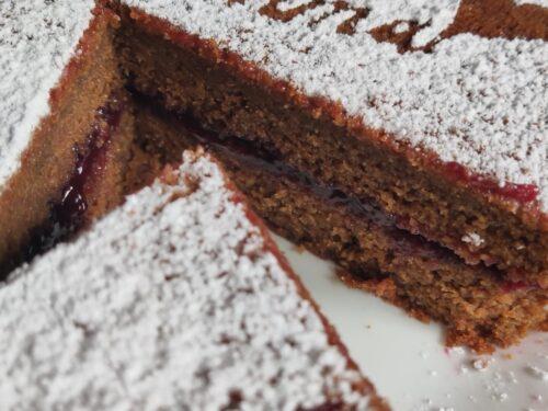 Torta al cacao – torta sofficissima salvaspreco-
