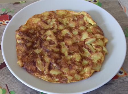 Frittata di patate e curcuma
