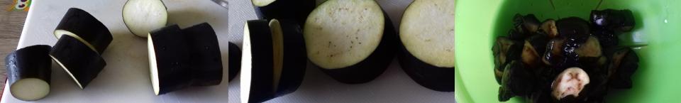 preparazione melanzane