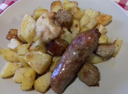 Misto di carne di suino e patate