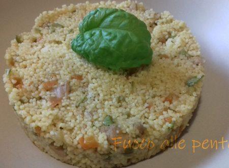 Cous cous di pollo e verdure