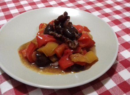 Peperoni e olive