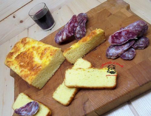 Plumcake al formaggio della capa