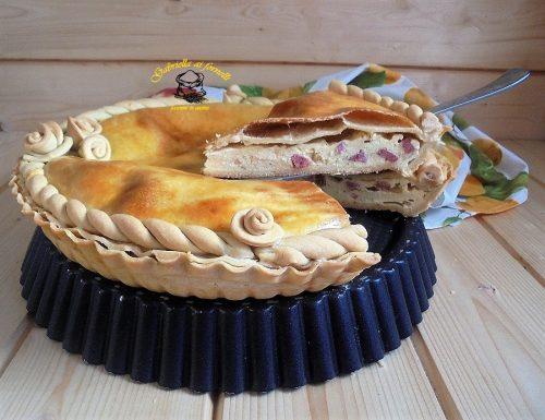 Torta rustica con ricotta di bufala campana