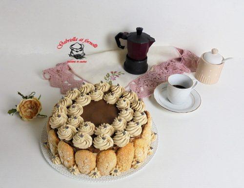 Torta morbida al caffè senza cottura