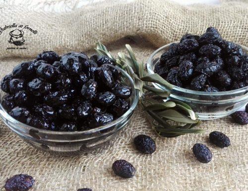 Olive nere ricce al forno ricetta contadina