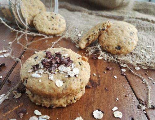 Biscotti ai 7 cereali con granella di cacao