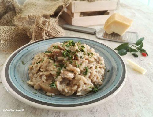 Risotto ai funghi porcini: ricetta