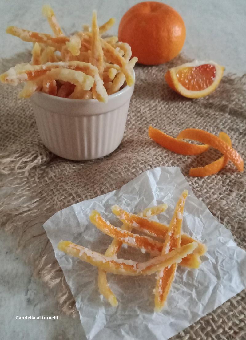 scorzette di arance candite