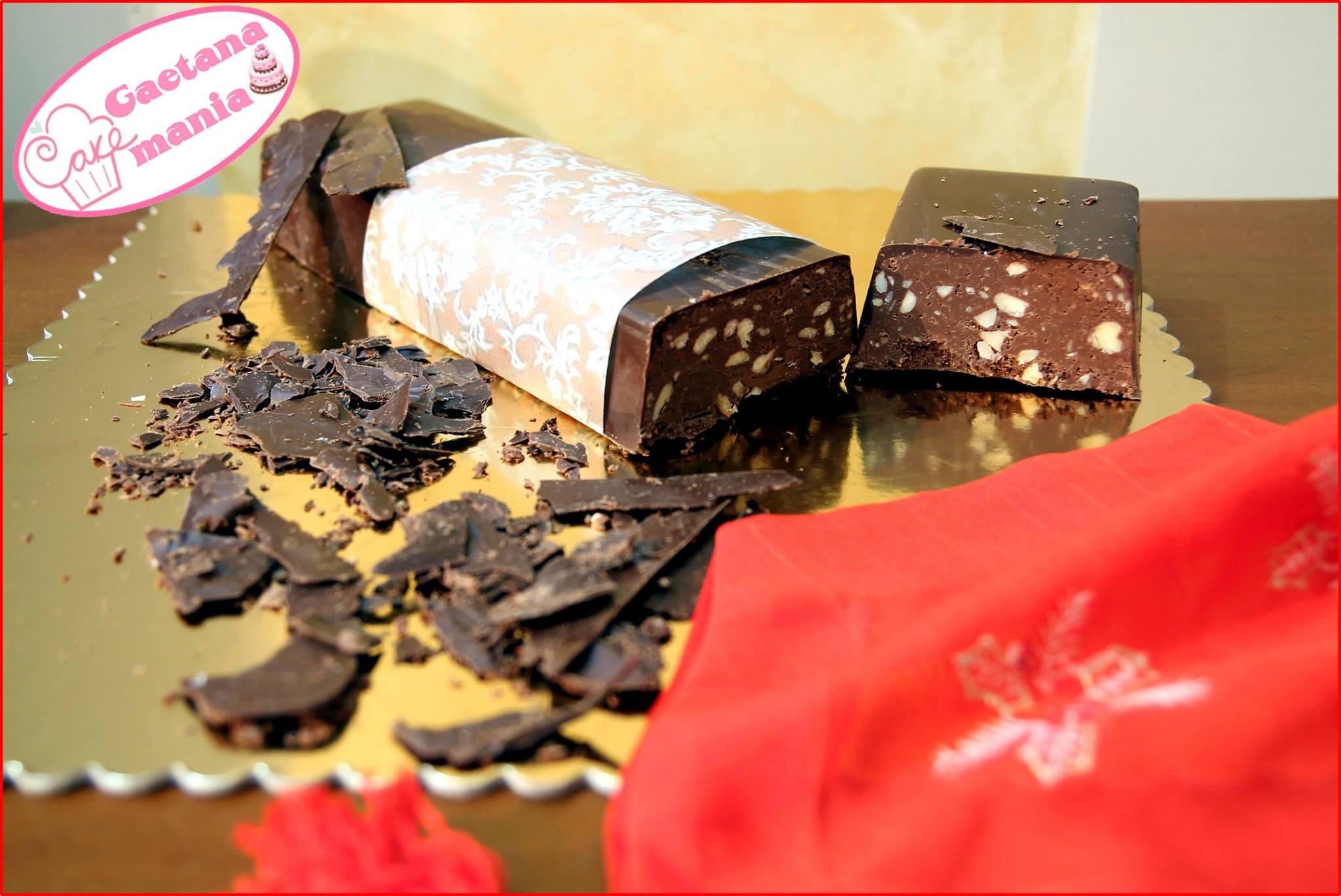 Torrone al cioccolato e mandorle - Ricetta