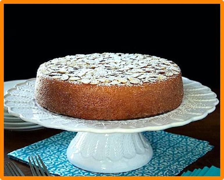 Torta di arance e mandorle. Ricetta facile e buonissima SENZA FARINA