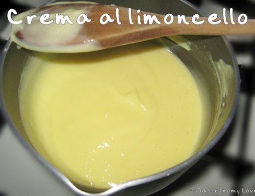 Crema delicata al limoncello