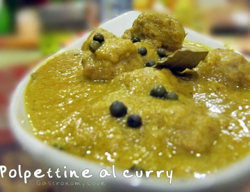 Polpettine al curry