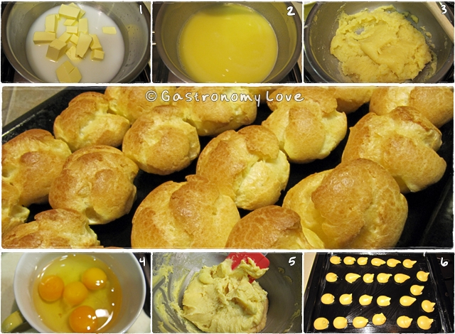 pasta choux montersino
