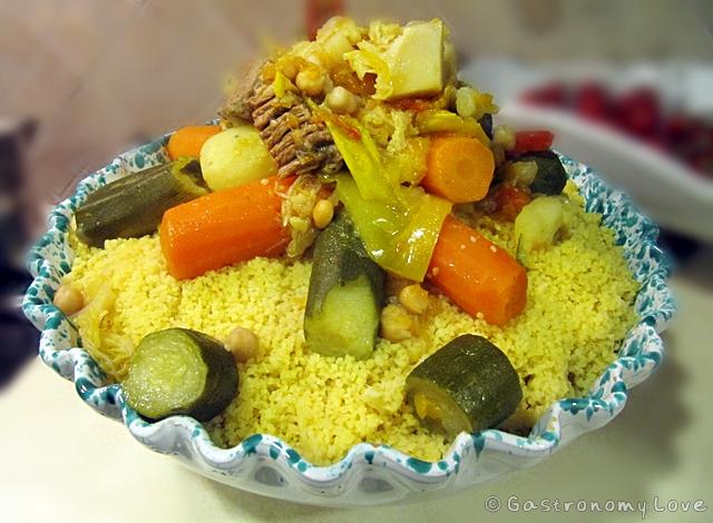 couscous con carne e verdure