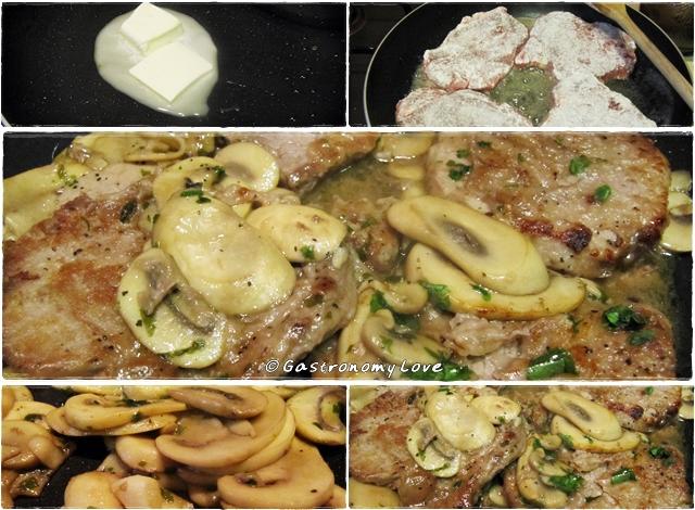 preparazione filetto ai funghi