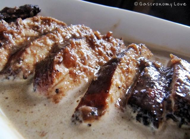 cuor di pollo all'aceto balsamico