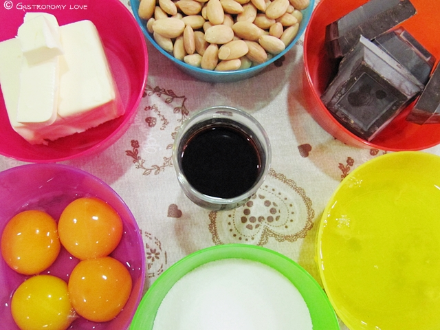 Torta Caprese_ingredienti